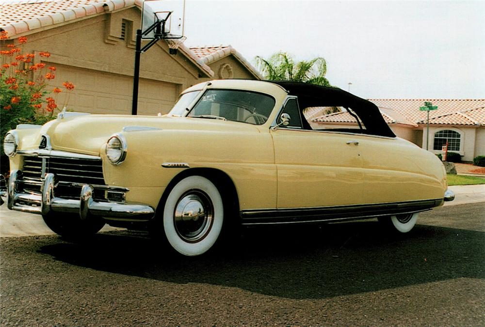 1948 HUDSON COMMODORE 8 CONVERTIBLE - Front 3/4 - 23085