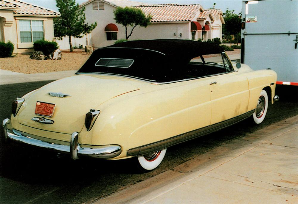 1948 HUDSON COMMODORE 8 CONVERTIBLE - Rear 3/4 - 23085