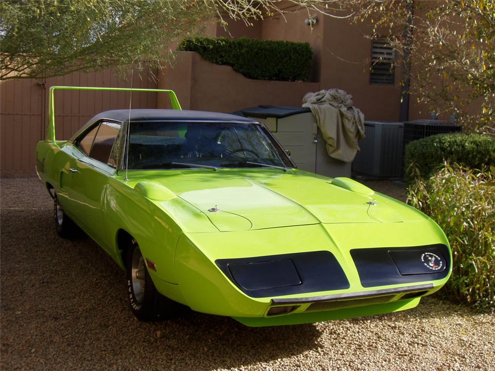 1970 PLYMOUTH SUPERBIRD 2 DOOR HARDTOP - Front 3/4 - 23089