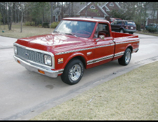 1972 CHEVROLET C-10 SHORT BED PICKUP -  - 23094