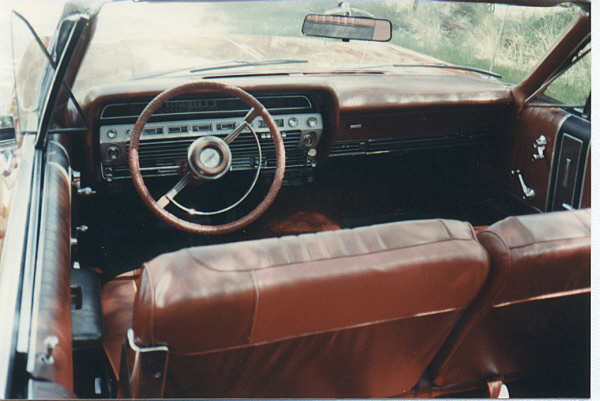 1967 FORD GALAXIE 500 CONVERTIBLE - Interior - 23099