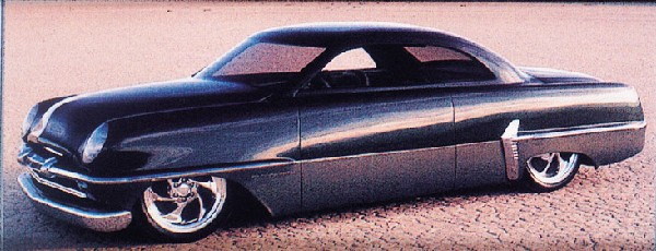"""1954 PLYMOUTH """"SNIPER"""" CUSTOM - Front 3/4 - 23113"""