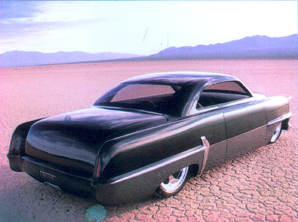 "1954 PLYMOUTH ""SNIPER"" CUSTOM - Rear 3/4 - 23113"