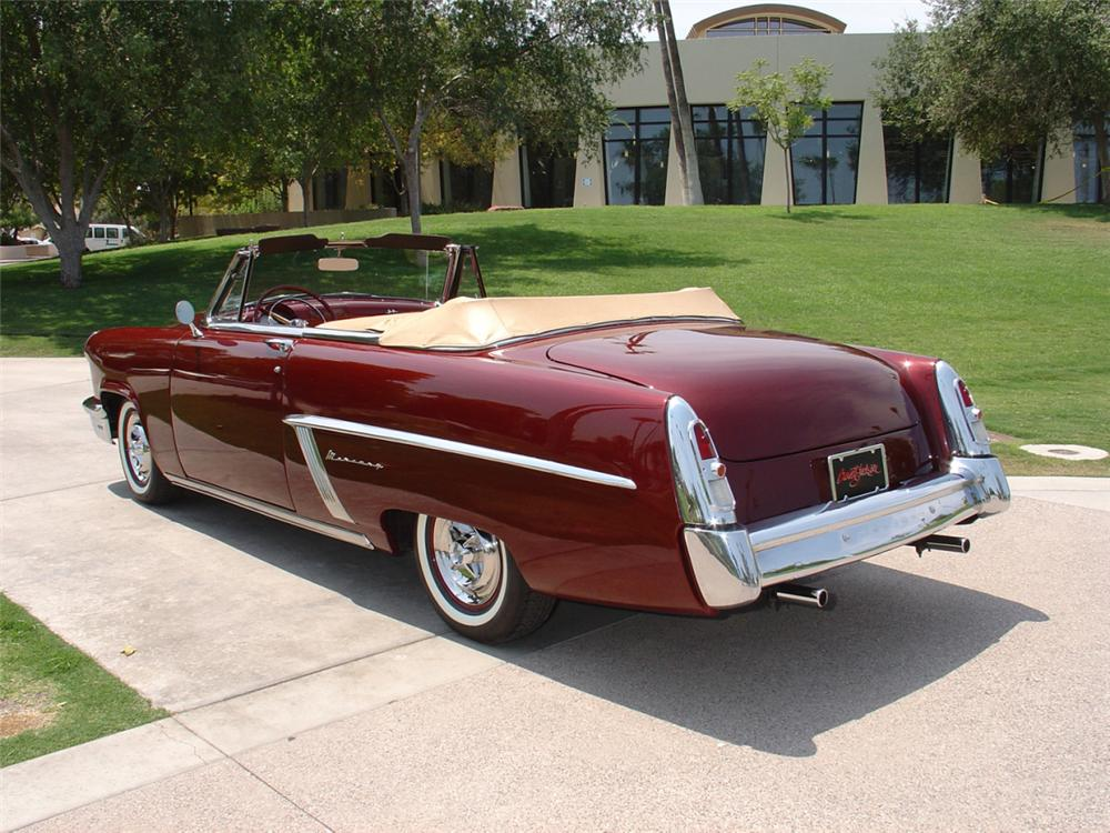 1952 MERCURY MONTEREY CUSTOM CONVERTIBLE - Rear 3/4 - 23163