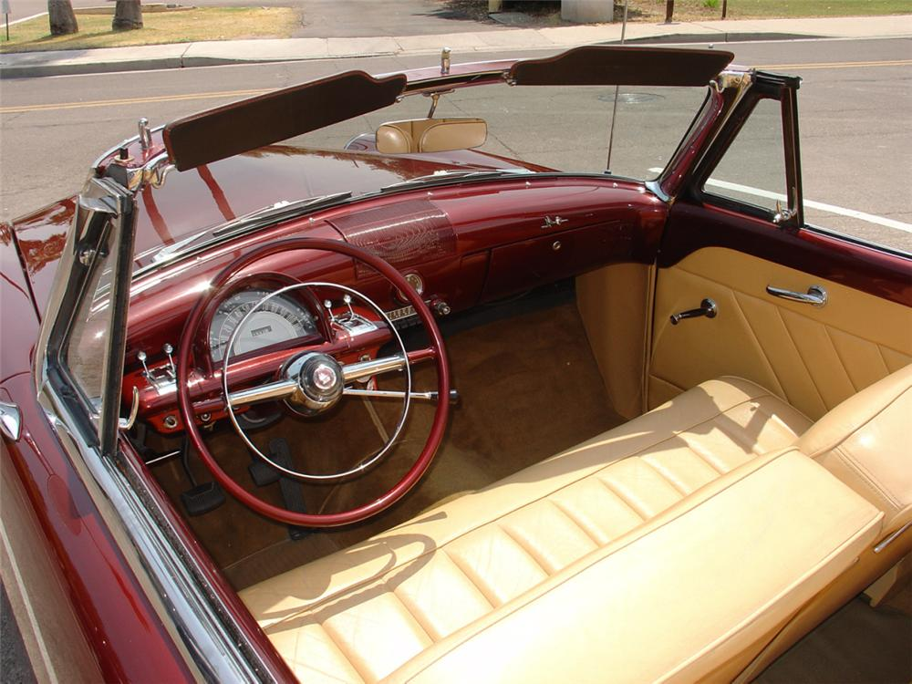 1952 MERCURY MONTEREY CUSTOM CONVERTIBLE - Interior - 23165