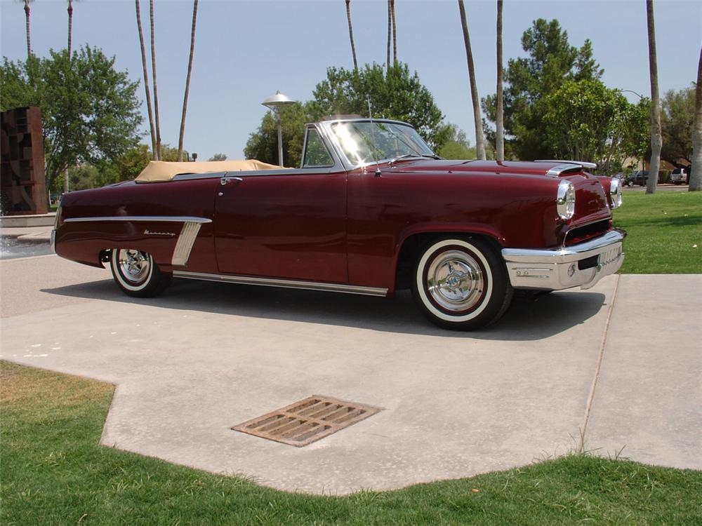 1952 MERCURY MONTEREY CUSTOM CONVERTIBLE - Side Profile - 23165