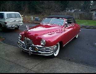 1948 PACKARD CONVERTIBLE -  - 23189
