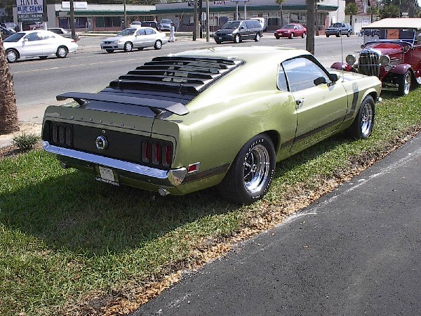 1970 FORD MUSTANG BOSS 302 UNKNOWN - Rear 3/4 - 23192