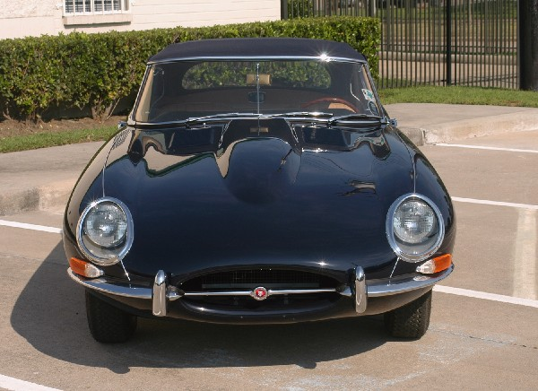 1965 JAGUAR XKE SERIES I ROADSTER - Side Profile - 23202
