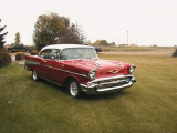 1957 CHEVROLET BEL AIR COUPE -  - 23222