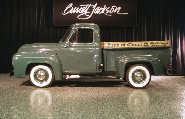 1953 FORD PICKUP - Side Profile - 23228