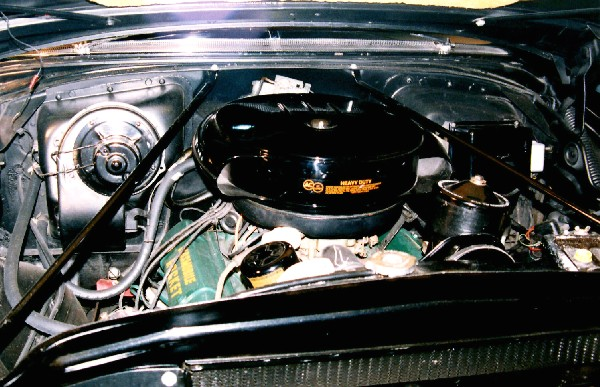 1955 OLDSMOBILE 98 STARFIRE CONVERTIBLE - Engine - 23229