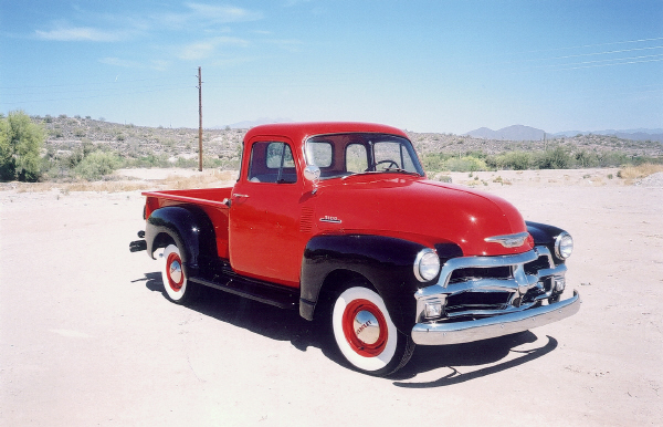 1954 CHEVROLET 3100 PICKUP - Front 3/4 - 23230