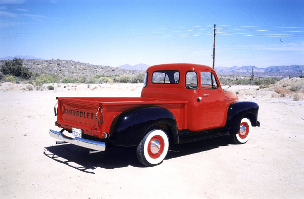 1954 CHEVROLET 3100 PICKUP - Rear 3/4 - 23230