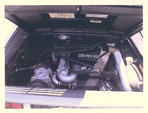 1981 DELOREAN GULLWING COUPE - Engine - 23233