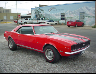 1968 CHEVROLET CAMARO RS/SS COUPE -  - 23242