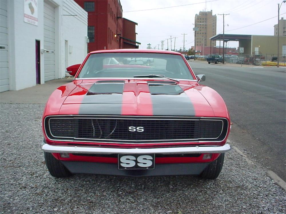 1968 CHEVROLET CAMARO RS/SS COUPE - Rear 3/4 - 23242