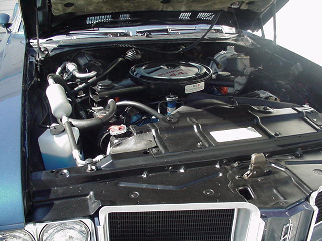 1971 OLDSMOBILE 442 CONVERTIBLE - Engine - 23254