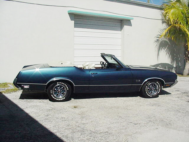 1971 OLDSMOBILE 442 CONVERTIBLE -  - 23254
