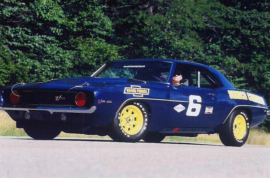 1969 CHEVROLET CAMARO Z/28 CLONE RACE CAR - Front 3/4 - 23269