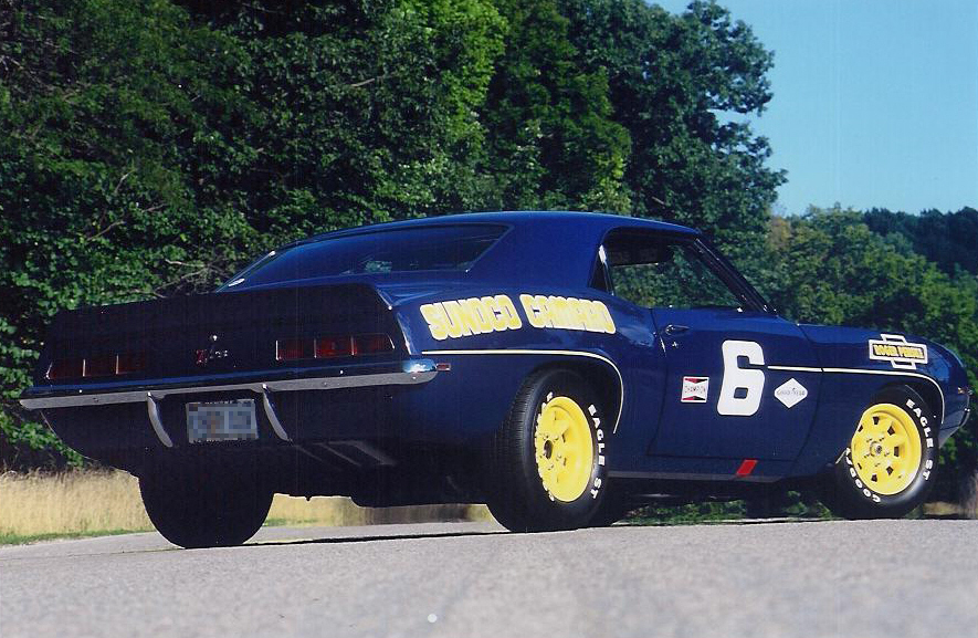 1969 CHEVROLET CAMARO Z/28 CLONE RACE CAR - Rear 3/4 - 23269