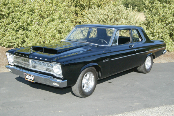 1965 PLYMOUTH BELVEDERE HEMI RE-CREATION - Front 3/4 - 23276