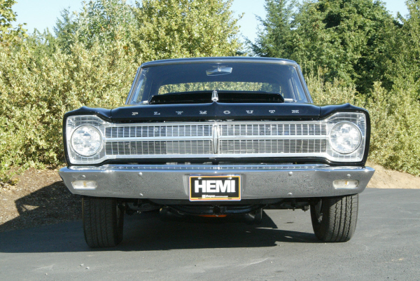 1965 PLYMOUTH BELVEDERE HEMI RE-CREATION - Side Profile - 23276