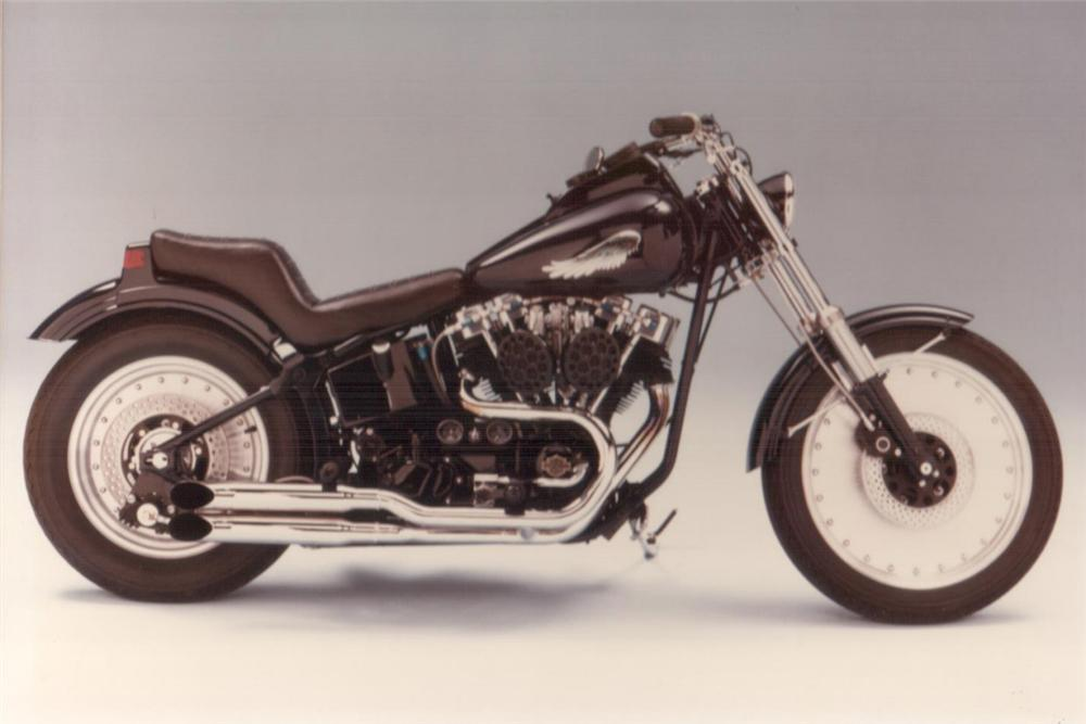 1983 UNKNOWN SOFTTAIL MOTORCYCLE - Front 3/4 - 23287