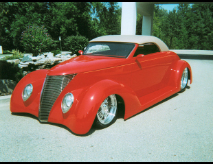 1937 FORD CONVERTIBLE -  - 23304