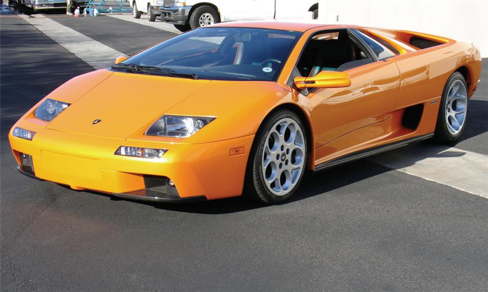 2001 LAMBORGHINI DIABLO PREVIOUSLY OWNED BY NICOLAS CAGE - Front 3/4 - 23309