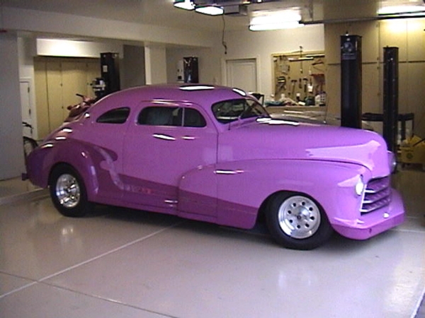1948 CHEVROLET HOT ROD COUPE - Side Profile - 23317