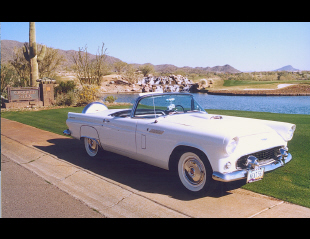 1956 FORD THUNDERBIRD CONVERTIBLE -  - 23318