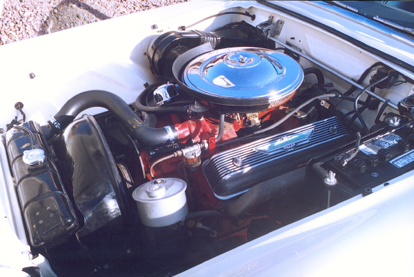 1956 FORD THUNDERBIRD CONVERTIBLE - Engine - 23318