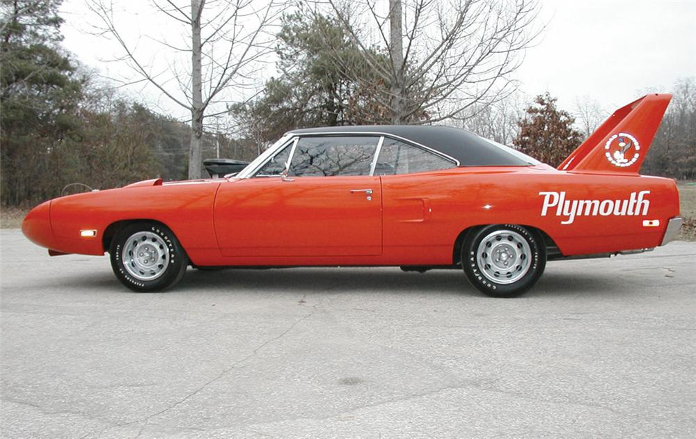 1970 PLYMOUTH SUPERBIRD 2 DOOR HARDTOP - Front 3/4 - 23320