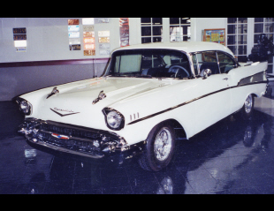 1957 CHEVROLET BEL AIR CUSTOM 2 DOOR HARDTOP -  - 23321