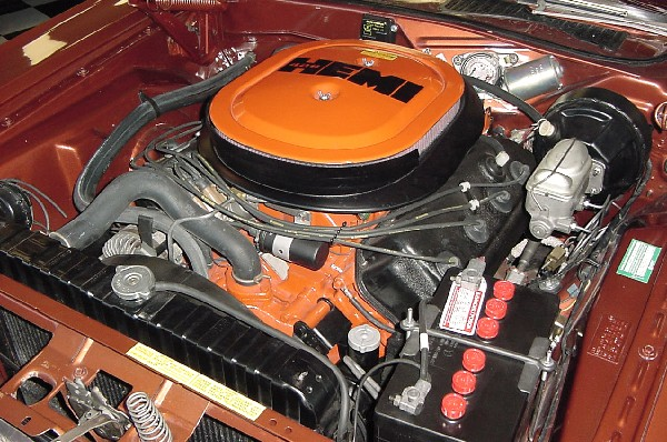 1970 DODGE CHALLENGER R/T HEMI - Engine - 23451