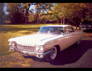 1960 CADILLAC SERIES 62 CONVERTIBLE -  - 23455