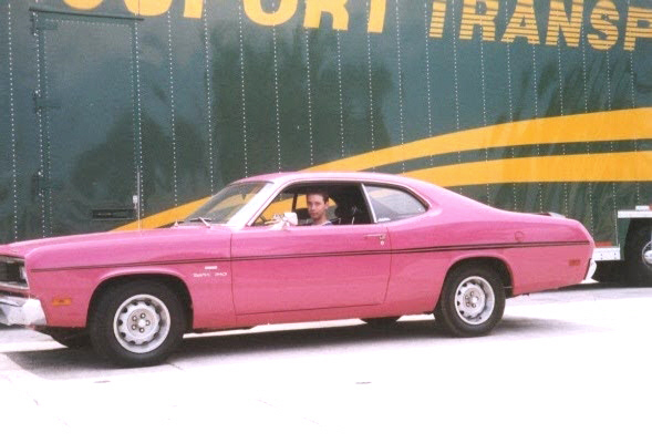 1970 PLYMOUTH DUSTER 2 DOOR HARDTOP - Front 3/4 - 23457