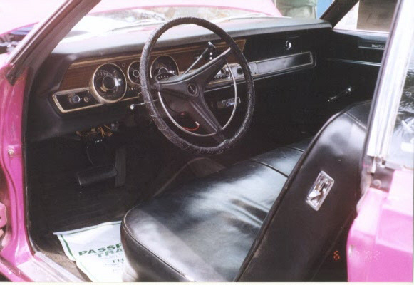 1970 PLYMOUTH DUSTER 2 DOOR HARDTOP - Interior - 23457