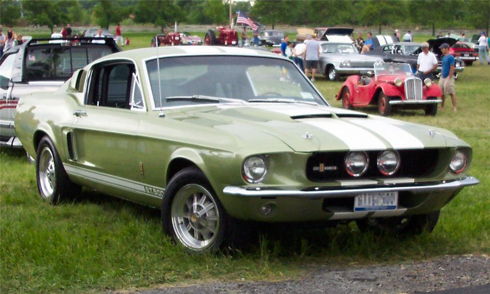 1967 SHELBY GT500 FASTBACK - Front 3/4 - 23458