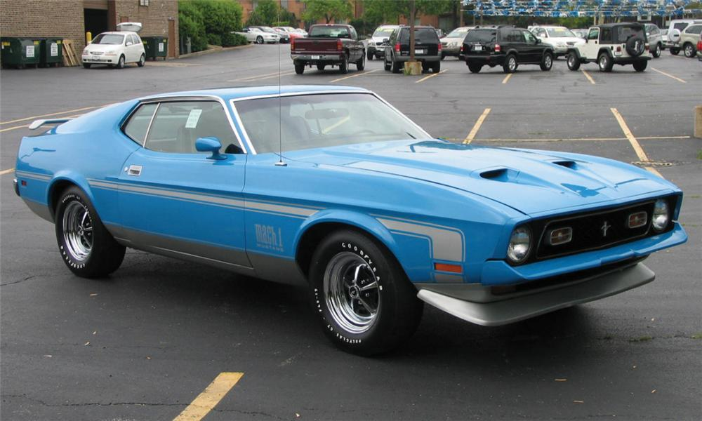 1972 ford mustang mach - photo #27