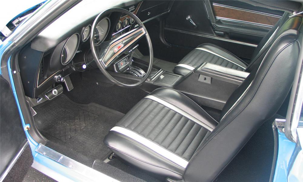 1972 FORD MUSTANG MACH 1 FASTBACK - Interior - 23459
