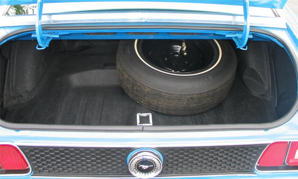 1972 FORD MUSTANG MACH 1 FASTBACK - Rear 3/4 - 23459