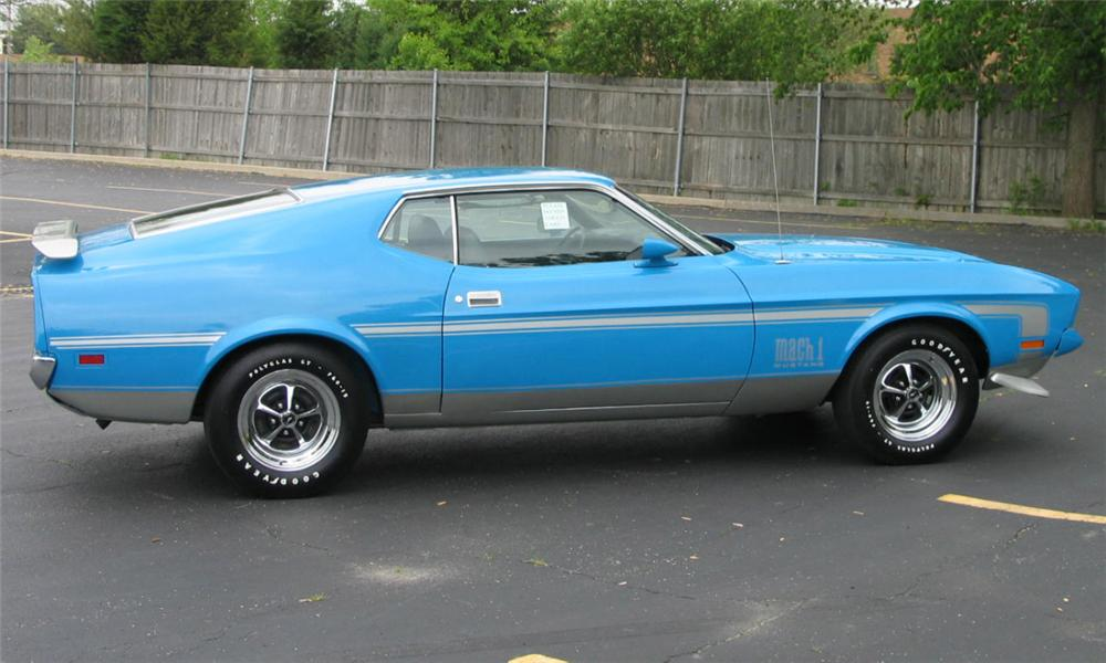 1972 ford mustang mach - photo #15