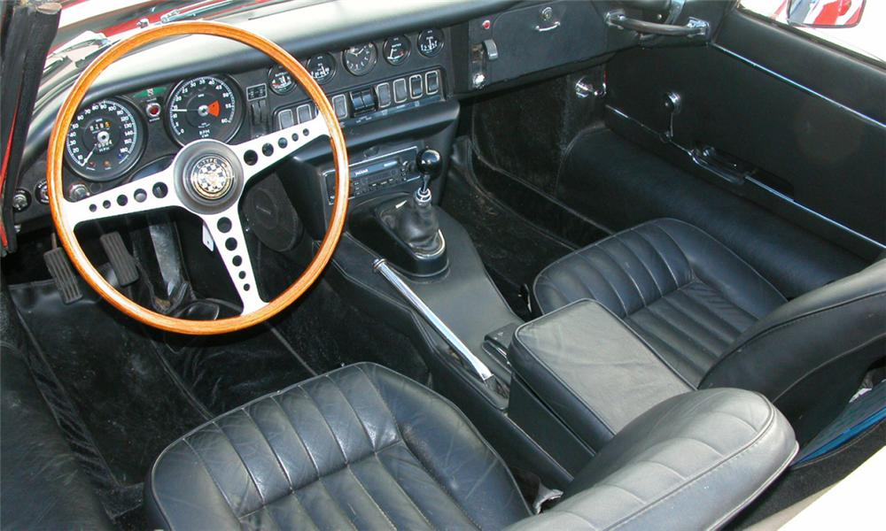 1968 JAGUAR XKE CONVERTIBLE - Interior - 23460