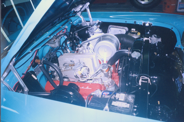 1957 CHEVROLET BEL AIR CONVERTIBLE - Engine - 23474