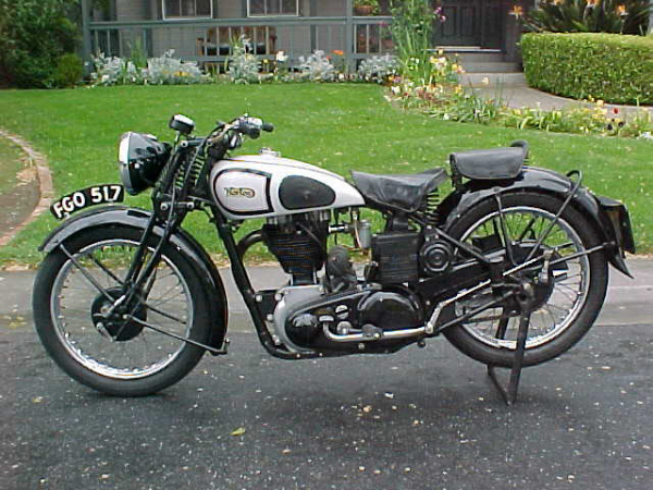 1938 NORTON ES2 500CC MOTORCYCLE - Side Profile - 23482