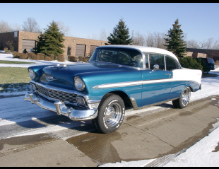 1956 CHEVROLET BEL AIR 2 DOOR HARDTOP -  - 23485