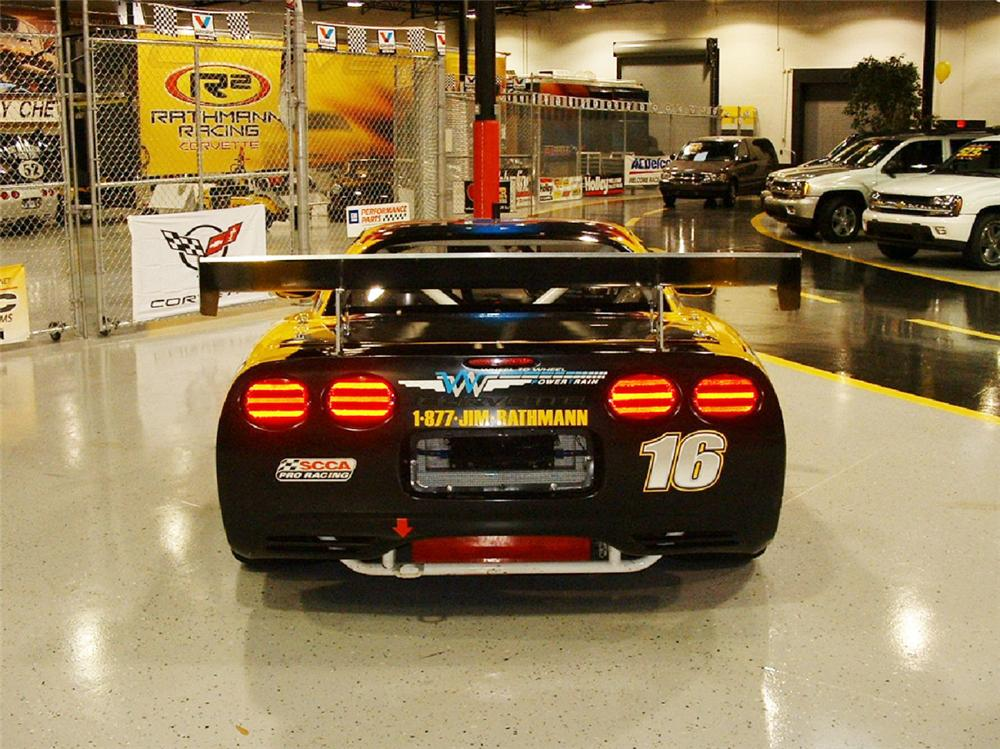 2003 CHEVROLET CORVETTE ZO6 RACE CAR - Rear 3/4 - 23487