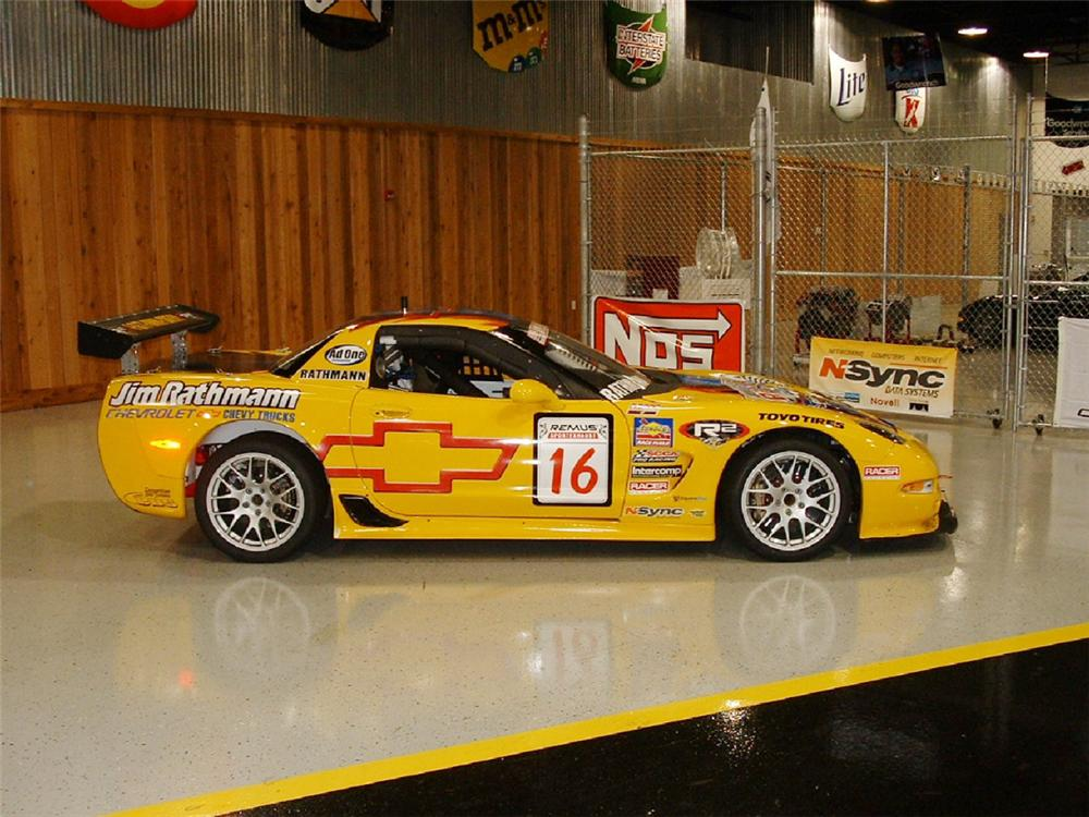 2003 CHEVROLET CORVETTE ZO6 RACE CAR - Side Profile - 23487